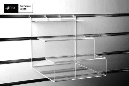 Acrylic 3 Tier Shelf