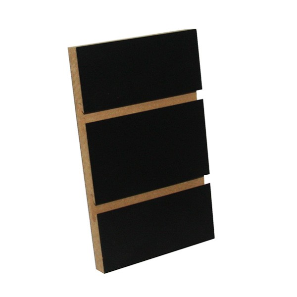 Black Slatpanel - 2.4m (H) x 1.2m (W) 