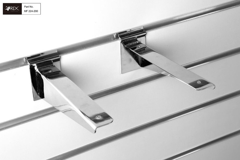 HD Shelf Bracket 200mm (Pair)