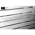 Acrylic Flat Shelf c/w Support Brackets 590*150mm