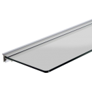 Floating Shelf Bracket - 995mm - for use with 6mm toughened glass