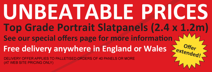 Slatpanels, Slatwalls and Slatwall Display products from RDC